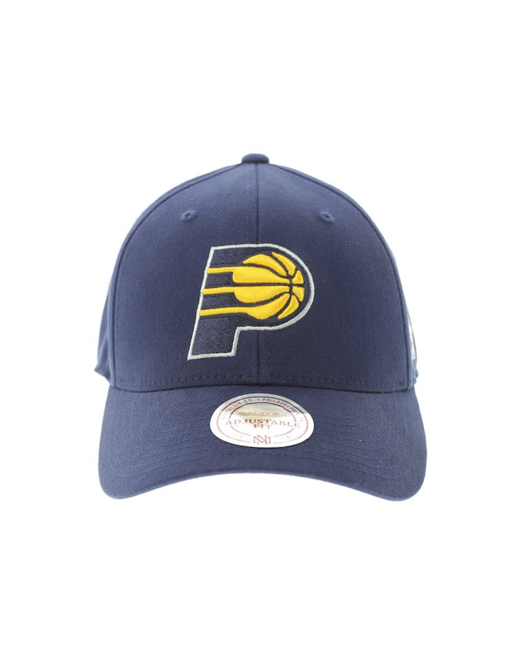 6489954379826 Mitchell   Ness Indiana Pacers 110 Snapback Navy – Culture Kings