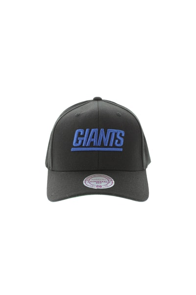 Mitchell & Ness New York Giants Flex 110 Embroidered Logo Snapback Black/Blue/Green