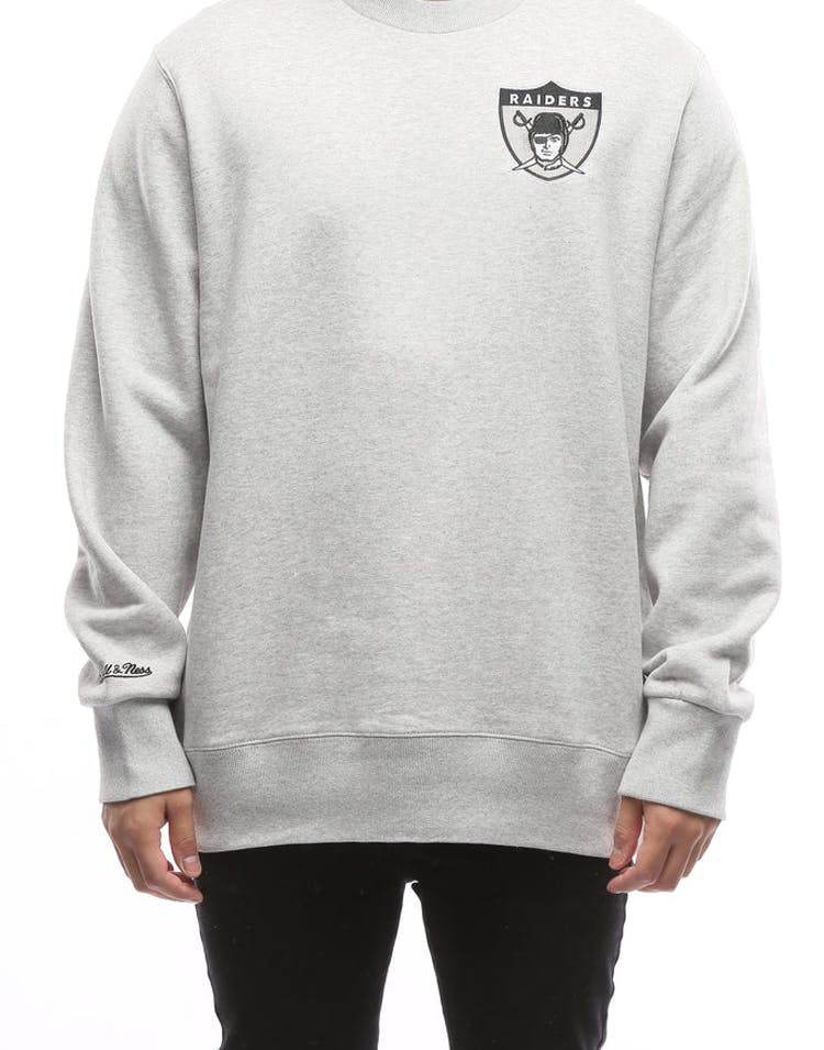 finest selection 6f0fe 17a1f Mitchell & Ness Oakland Raiders Playoff Win Crew Grey
