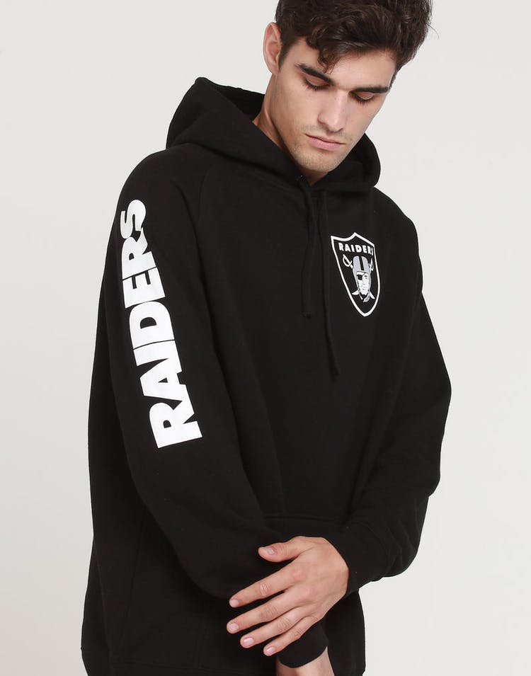 Mitchell & Ness Raiders (TC) Wordmark Hood Black