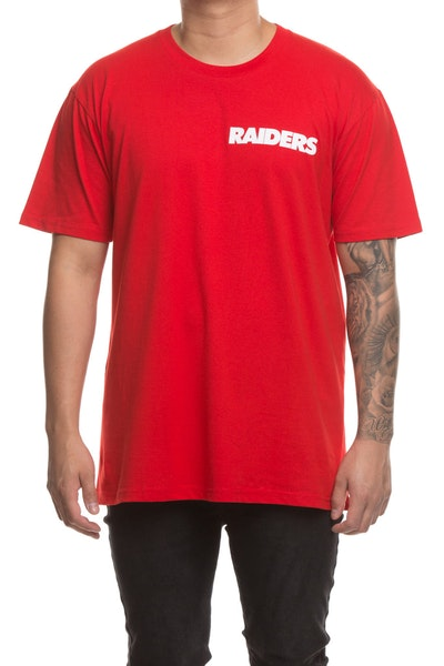 Majestic Athletic Oakland Raiders Jeaner Tee Red/White