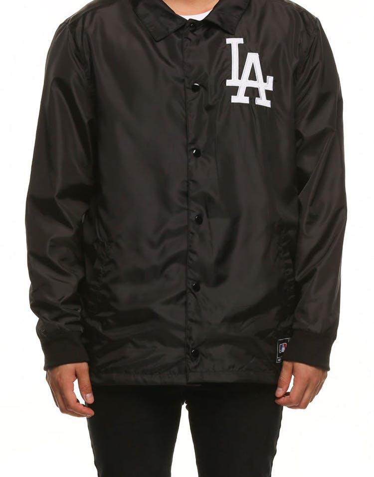 ac06b6e1e07ec Majestic Athletic Los Angeles Dodgers Russo Coach Jacket Black ...