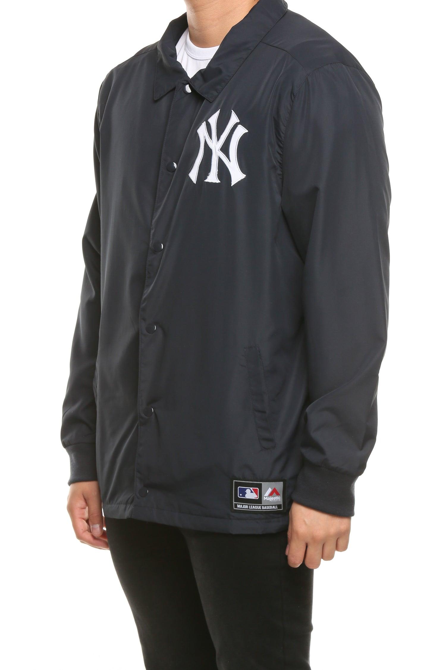 Majestic Athletic Boys Grey /& Navy New York Yankees Jacket
