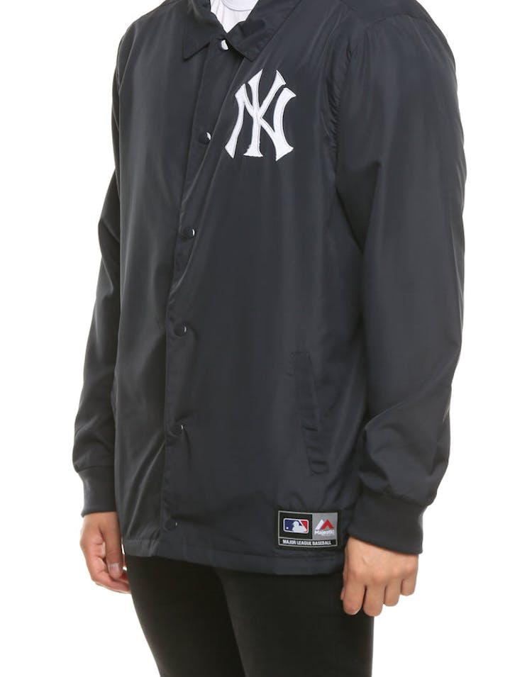 09f574422 Majestic Athletic New York Yankees Russo Coach Jacket Navy – Culture ...