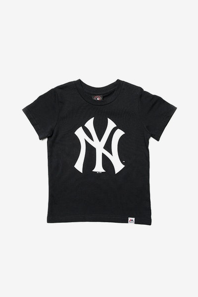 Majestic Athletic Toddler Yankees Prism Logo Tee Navy