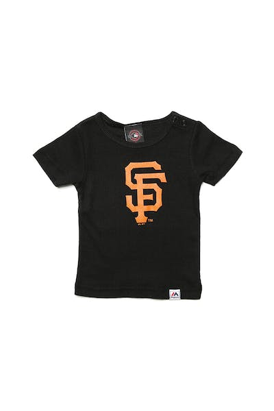 Majestic Athletic Infant Giants Prism Logo Tee Black