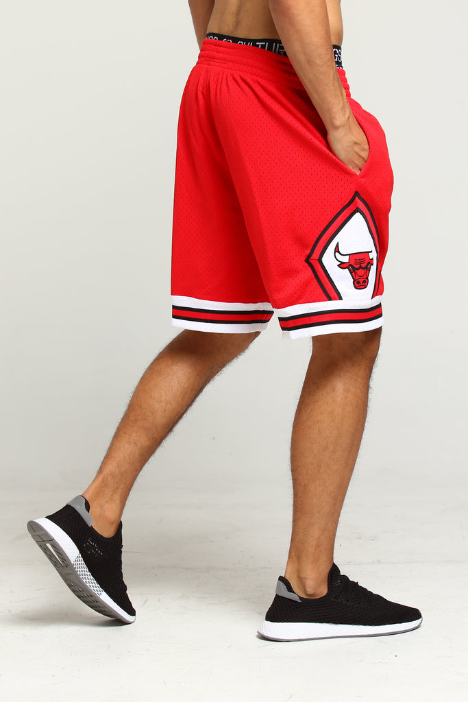 Bulls Mitchellamp; Swingman Chicago Red Shorts Ness 9798 HI9WD2E