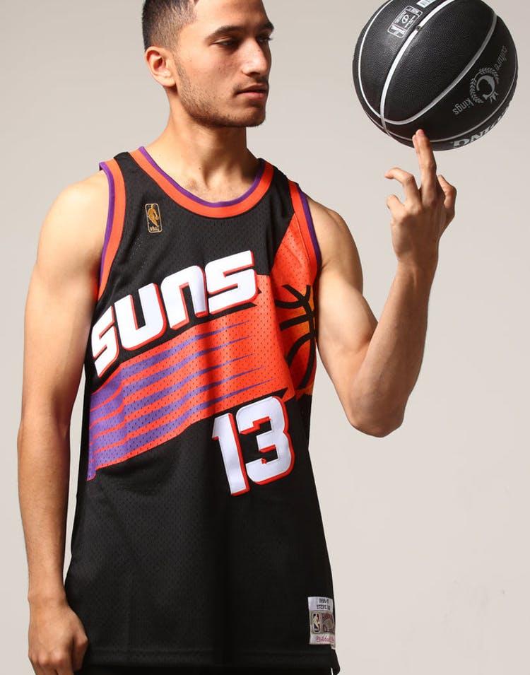 fbc00b63 Mitchell & Ness Phoenix Suns Steve Nash #13 NBA Jersey Black – Culture Kings