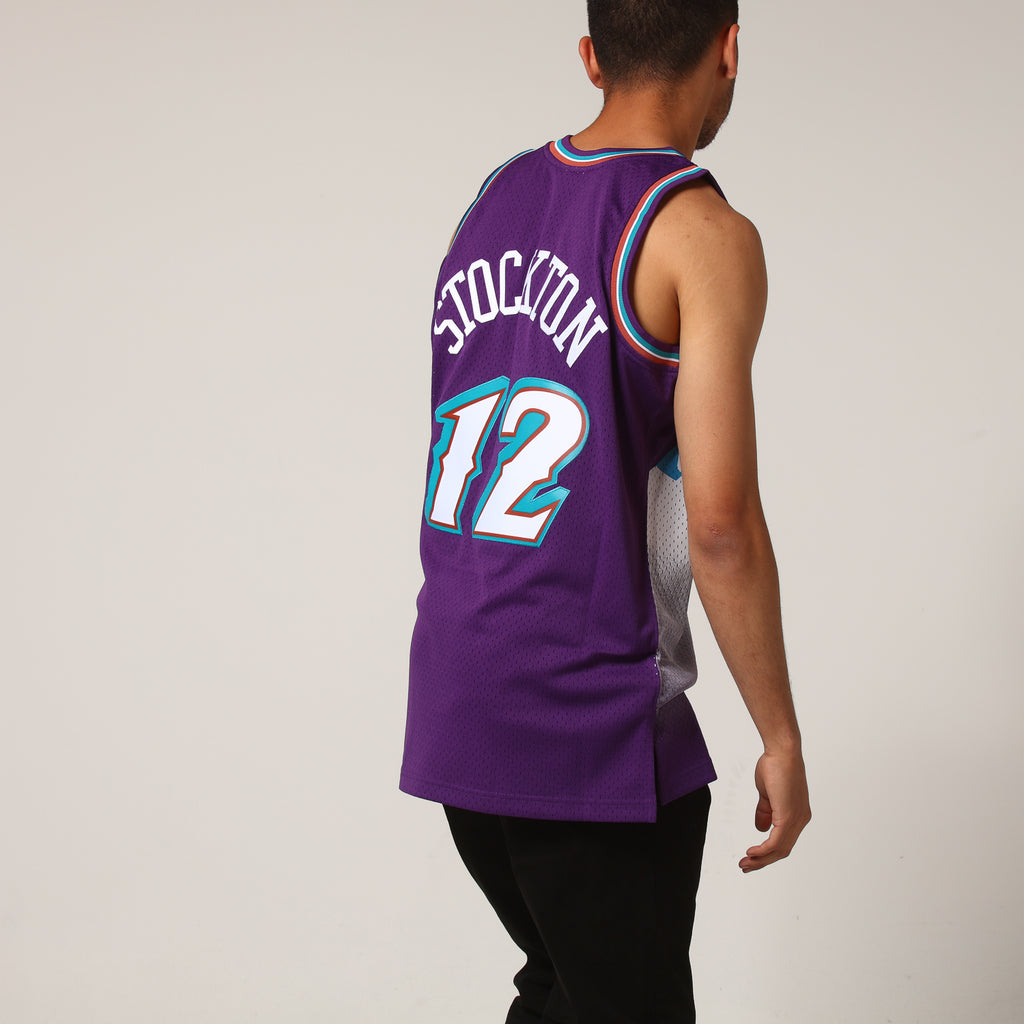 736118f53 ... swingman sale mitchell ness utah jazz john stockton 12 nba jersey purple  8d41e 1a394 ...