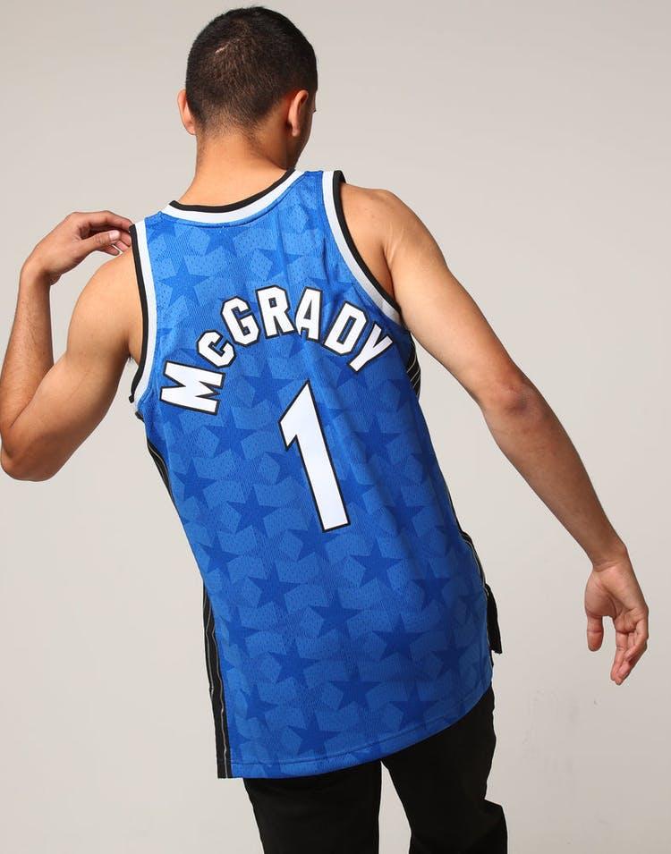 big sale 0f770 aee50 Mitchell & Ness Orlando Magic Tracy McGrady #1 NBA Jersey Royal