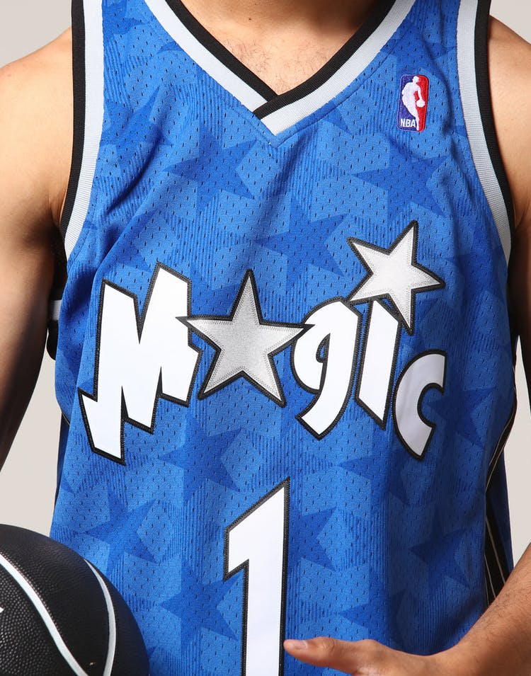 big sale 4ae02 8d6d5 Mitchell & Ness Orlando Magic Tracy McGrady #1 NBA Jersey Royal