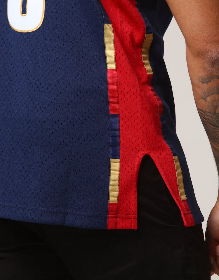 purchase cheap 8c6f9 8f81d Mitchell & Ness Cleveland Cavaliers Lebron James #23 NBA Jersey Navy/Red