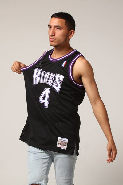 Mitchell & Ness Sacramento Kings Chris Webber #4 NBA Jersey Black
