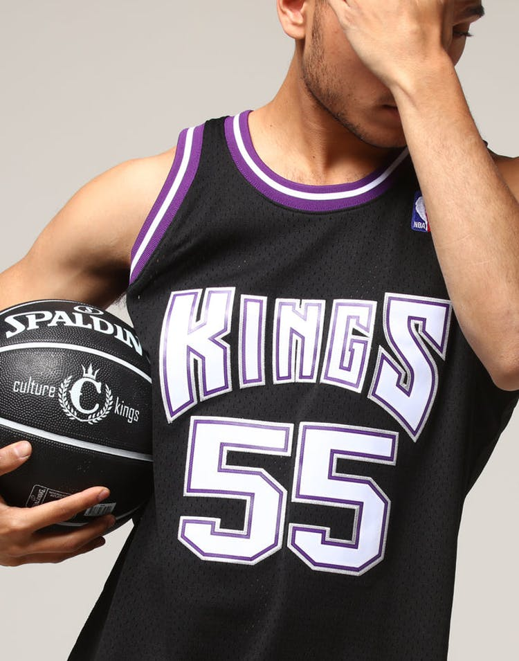 13d91d4f736d Mitchell   Ness Sacramento Kings Jason Williams  55 NBA Jersey Black –  Culture Kings