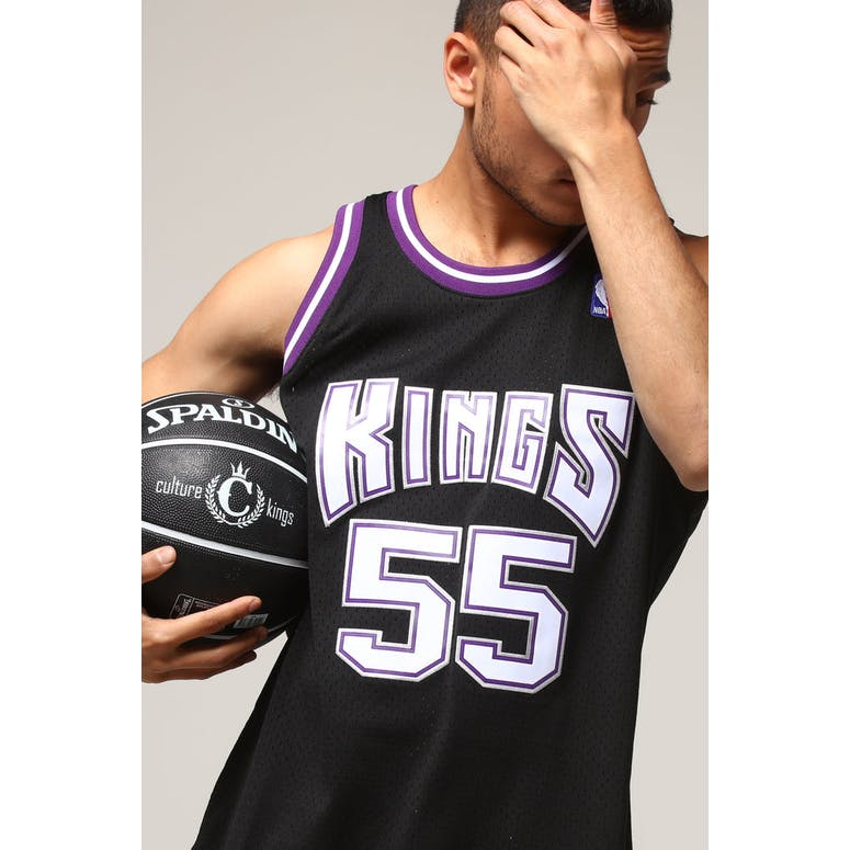 new style 61814 3369c Mitchell & Ness Sacramento Kings Jason Williams #55 NBA Jersey Black