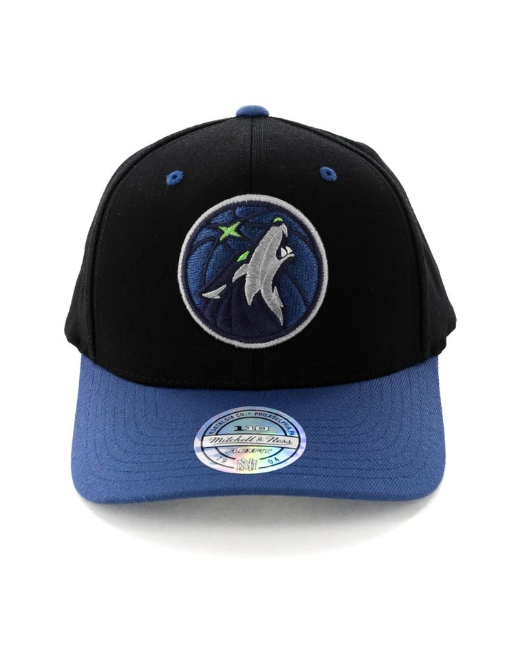 the best attitude e89a7 1561c Mitchell   Ness Minnesota Timberwolves Team Logo 2 Tone 110 Snapback B –  Culture Kings
