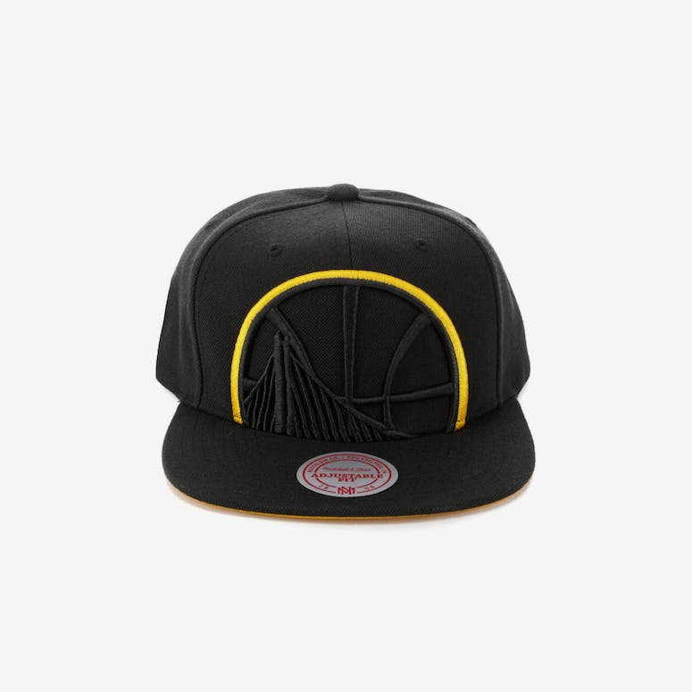 Mitchell   Ness Golden State Warriors Team Colour Pop Snapback Black Y –  Culture Kings 350ca7059a27