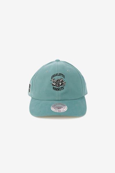 Mitchell   Ness Charlotte Hornets Haze Snapback Teal dbebcb1bcd