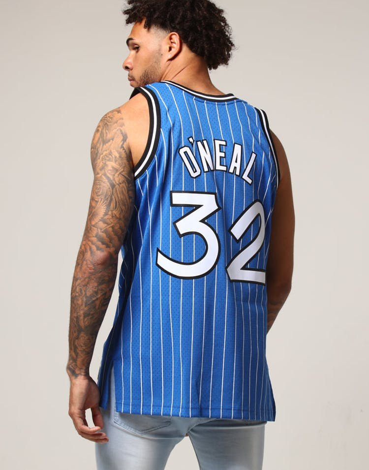 13e4c477 Mitchell & Ness Orlando Magic Shaquille O'Neal #32 NBA Jersey Royal –  Culture Kings