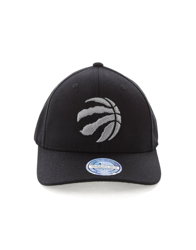 bd9b923a0 Mitchell & Ness Toronto Raptors Mono Melange Logo Snapback Black