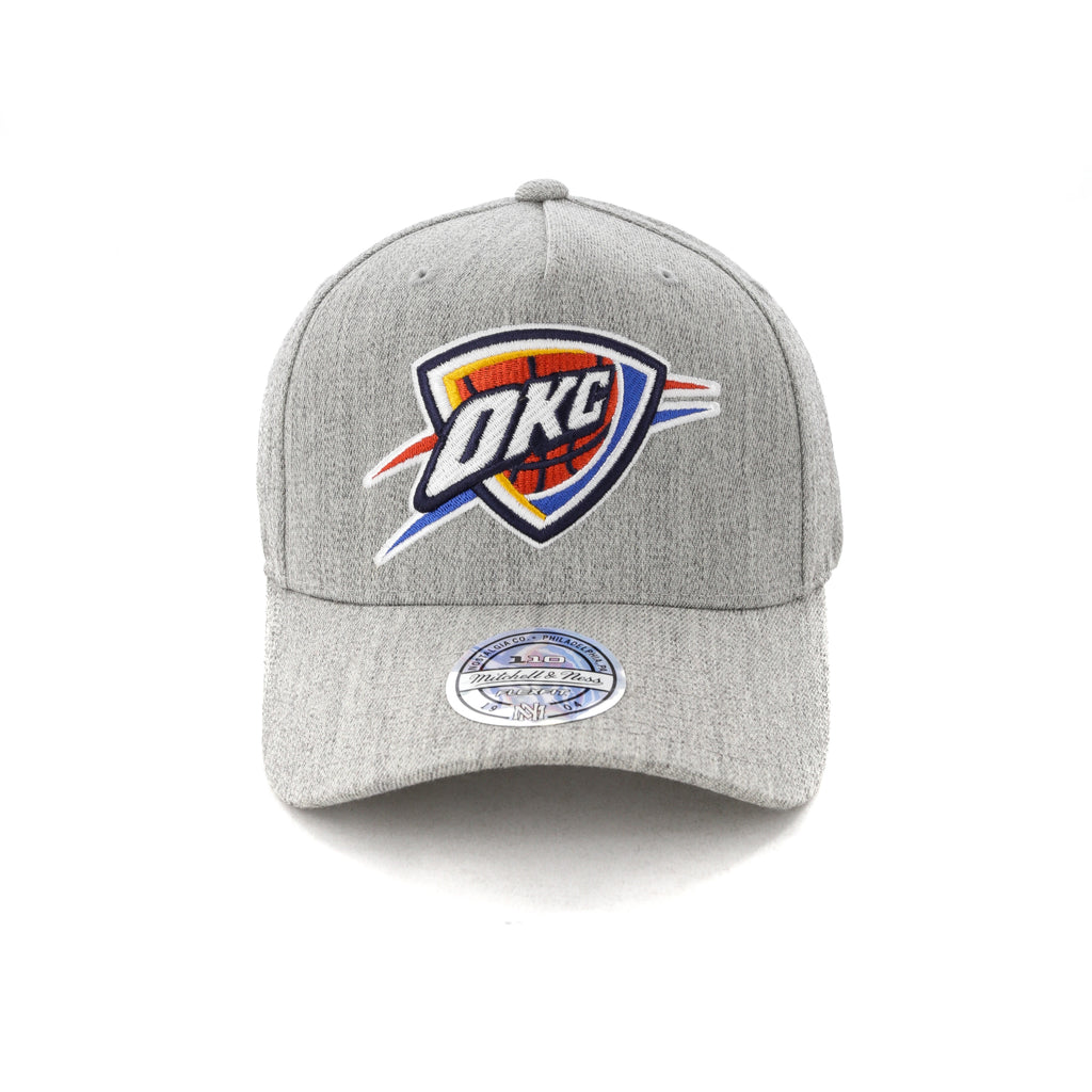 new styles acdc6 3233a ... best price mitchell ness oklahoma city thunder pinch 110 snapback grey  heather 0982a 28594