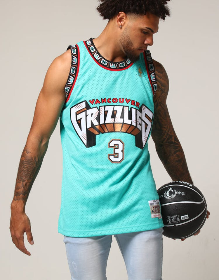 e48cce374 Mitchell   Ness Vancouver Grizzlies Shareef Abdur-Rahim  3 NBA Jersey –  Culture Kings