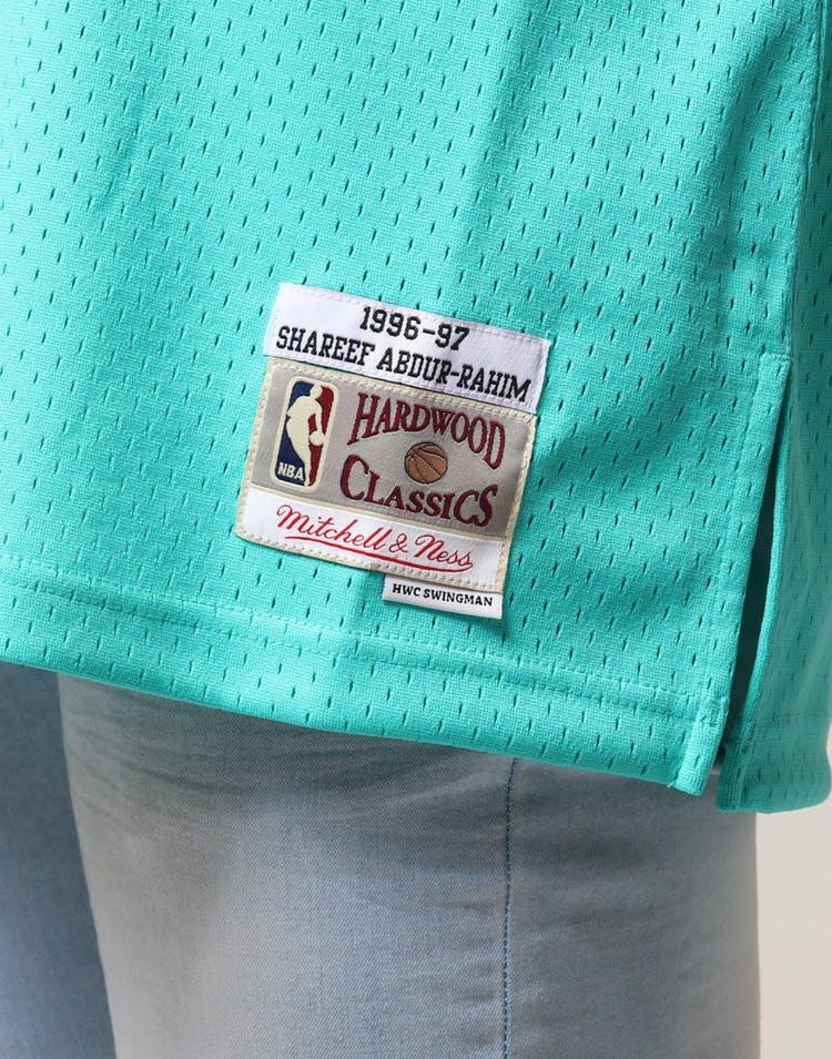 b3fd07d99 Mitchell   Ness Vancouver Grizzlies Shareef Abdur-Rahim  3 NBA Jersey Aqua