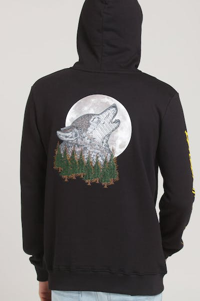 Criminal Damage Ghost Hood Black/Multi-Coloured