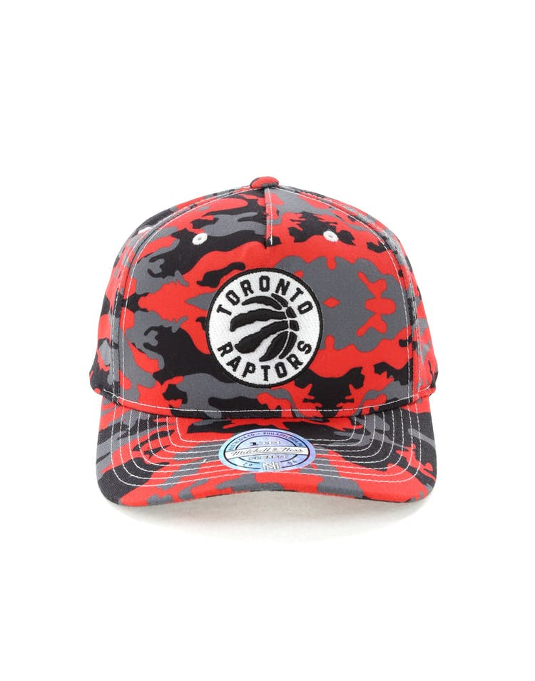 finest selection 05354 08513 Mitchell   Ness Toronto Raptors 110 Pinch Panel Snapback Camo Red – Culture  Kings