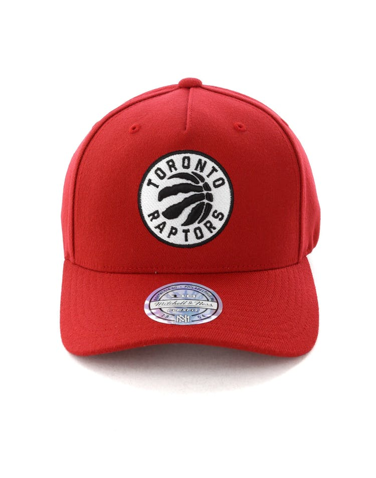 new product 0a5e7 8997c Mitchell   Ness Toronto Raptors Pinch 110 Snapback Scarlet – Culture Kings