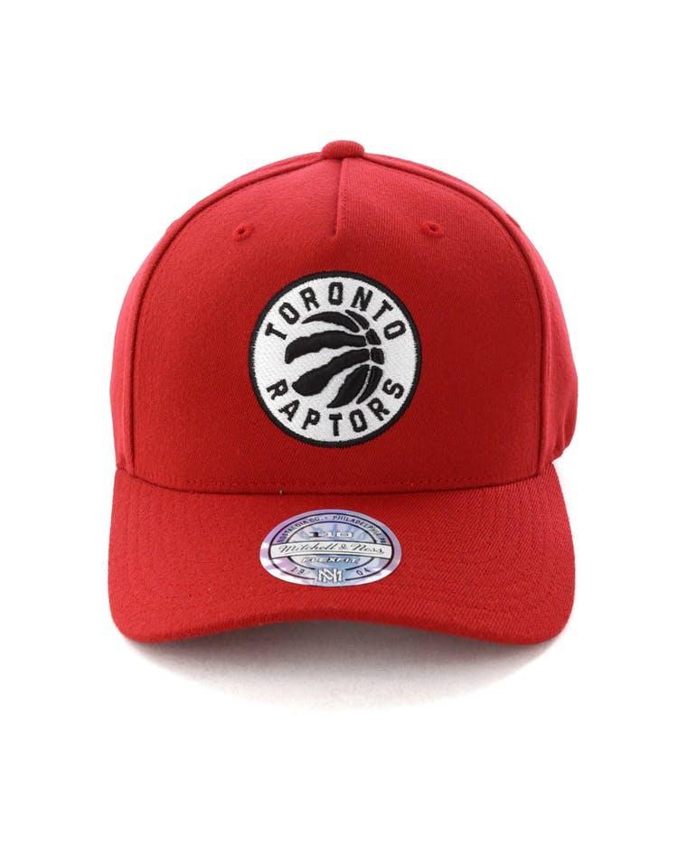 5f558d17265 Mitchell & Ness Toronto Raptors Pinch 110 Snapback Scarlet – Culture Kings