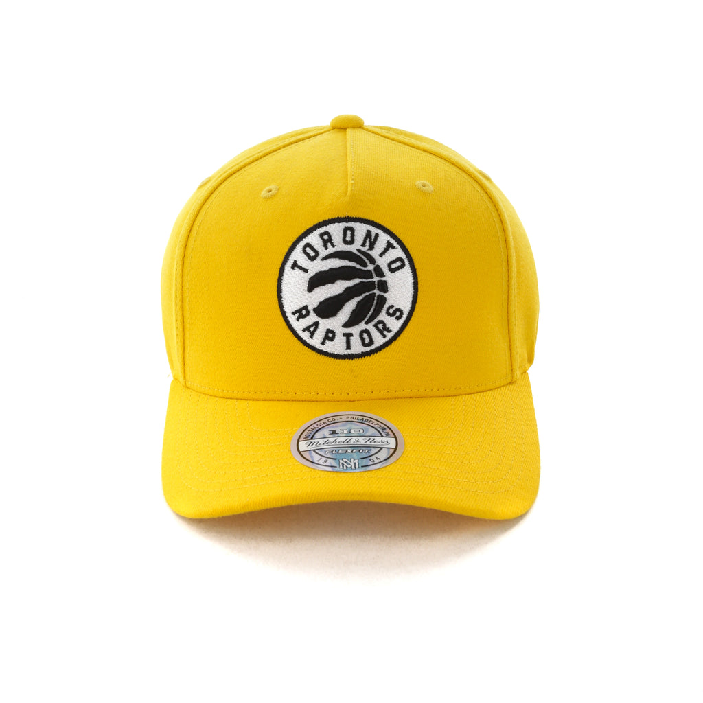 4d6fe86287f ... reduced mitchell ness toronto raptors pinch 110 snapback yellow c959f  4f837