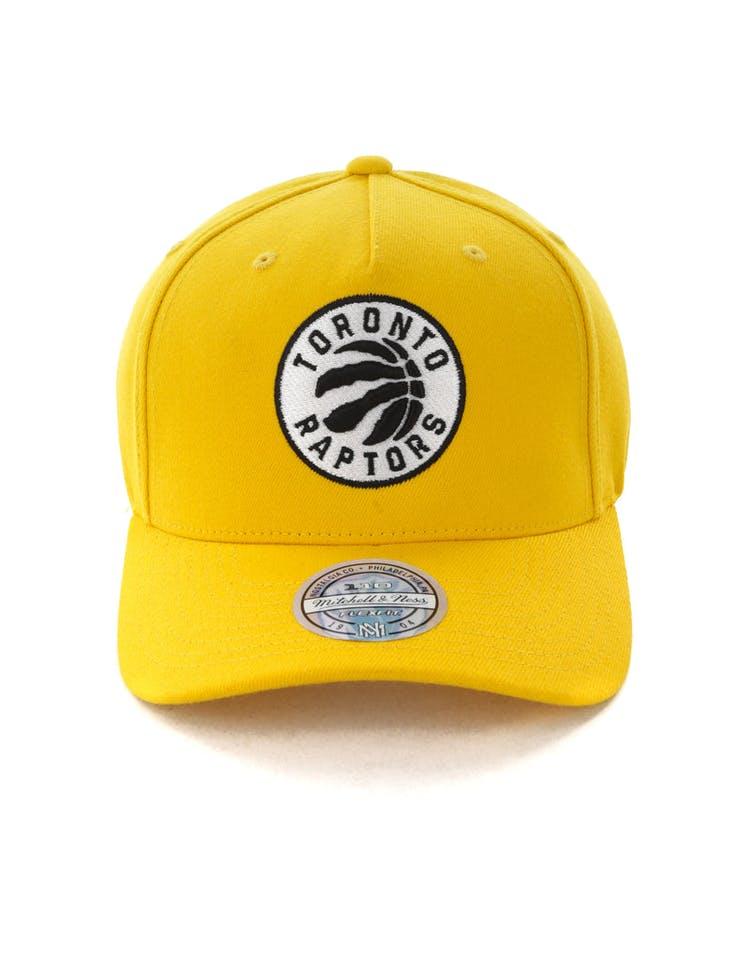 26b2cc8641c Mitchell & Ness Toronto Raptors Pinch 110 Snapback Yellow – Culture Kings