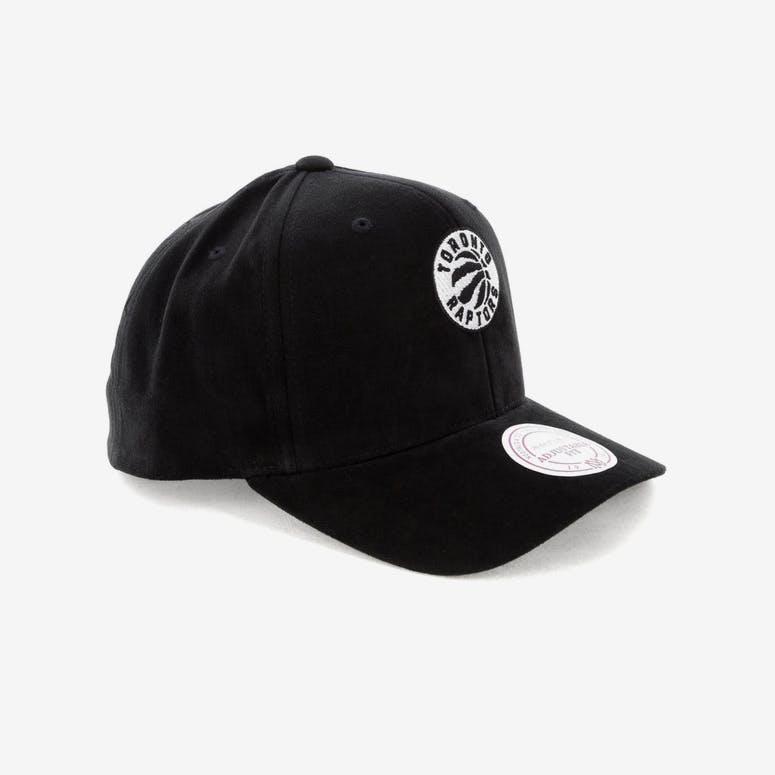f4fe6950993 Mitchell   Ness Toronto Raptors 88 Haze Snapback Black