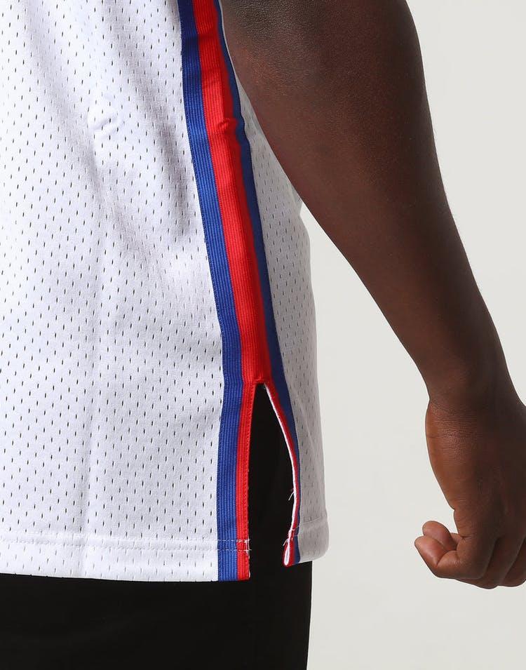 release date: 2e17f baa7a Mitchell & Ness New Jersey Nets Dražen Petrović #3 NBA Jersey White