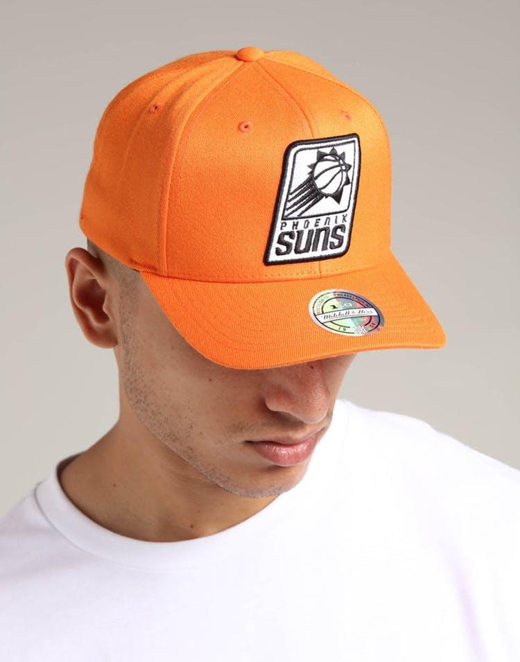 a7527a04b5192 Mitchell   Ness Phoenix Suns 110 Pinch Snapback Orange – Culture Kings