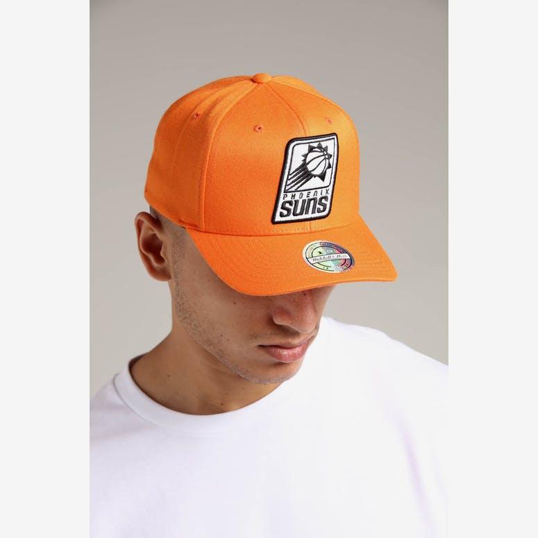 22a73949ccd Mitchell   Ness Phoenix Suns 110 Pinch Snapback Orange – Culture Kings
