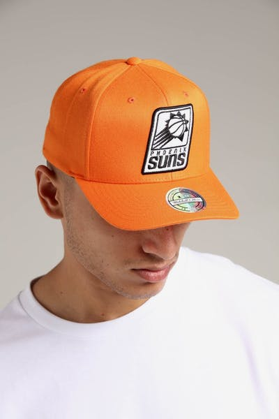 Mitchell   Ness Phoenix Suns 110 Pinch Snapback Orange f7d6638d3c8a