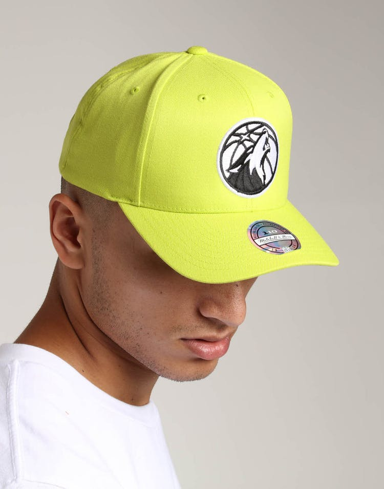 Mitchell & Ness Minnesota Timberwolves Pinch 110 Snapback Green