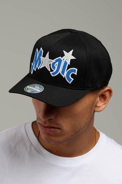 Mitchell   Ness Orlando Magic Logo 110 Snapback Black Blue ea54c9292678
