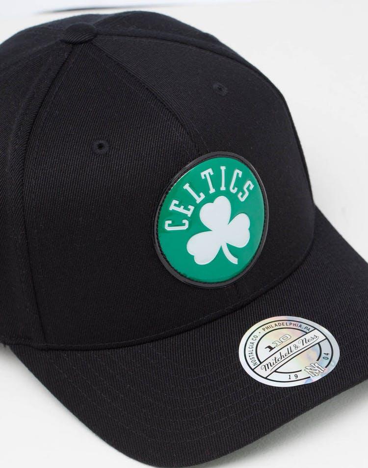 d44da43b Mitchell & Ness | Boston Celtics Cap Black | Chrome Logo | Mens ...
