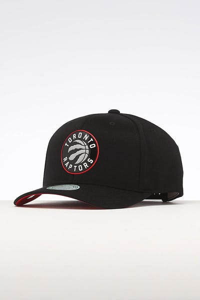 Mitchell & Ness Toronto Raptors Chrome Logo Snapback Black