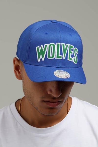 685f3054979 Mitchell   Ness Minnesota Timberwolves Jersey Logo 110 Snapback Royal