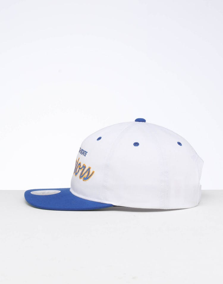 Mitchell & Ness Golden State Warriors Deadstock Snapback White/Blue