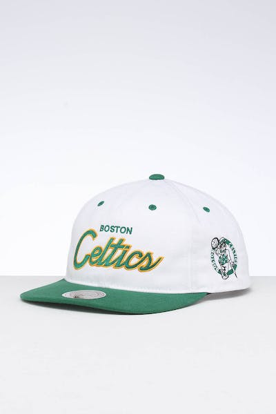 Mitchell & Ness Boston Celtics Deadstock Snapback White/Green