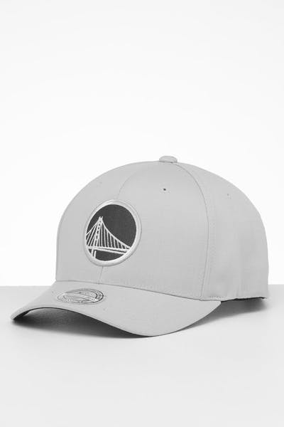 Mitchell & Ness Golden State Warriors Mist High Crown 110 Snapback Off White