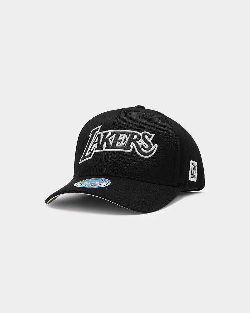 Mitchell & Ness Los Angeles Lakers Outline High Crown 110 Snapback Black