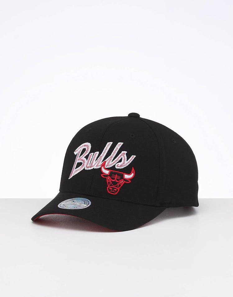 9bc7464154dad Mitchell & Ness Chicago Bulls Front Line High Crown 110 Snapback Black/OTC