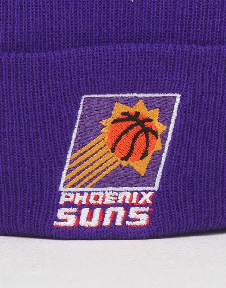 7911c9f57 Mitchell & Ness Phoenix Suns HWC Logo Knit Beanie Purple