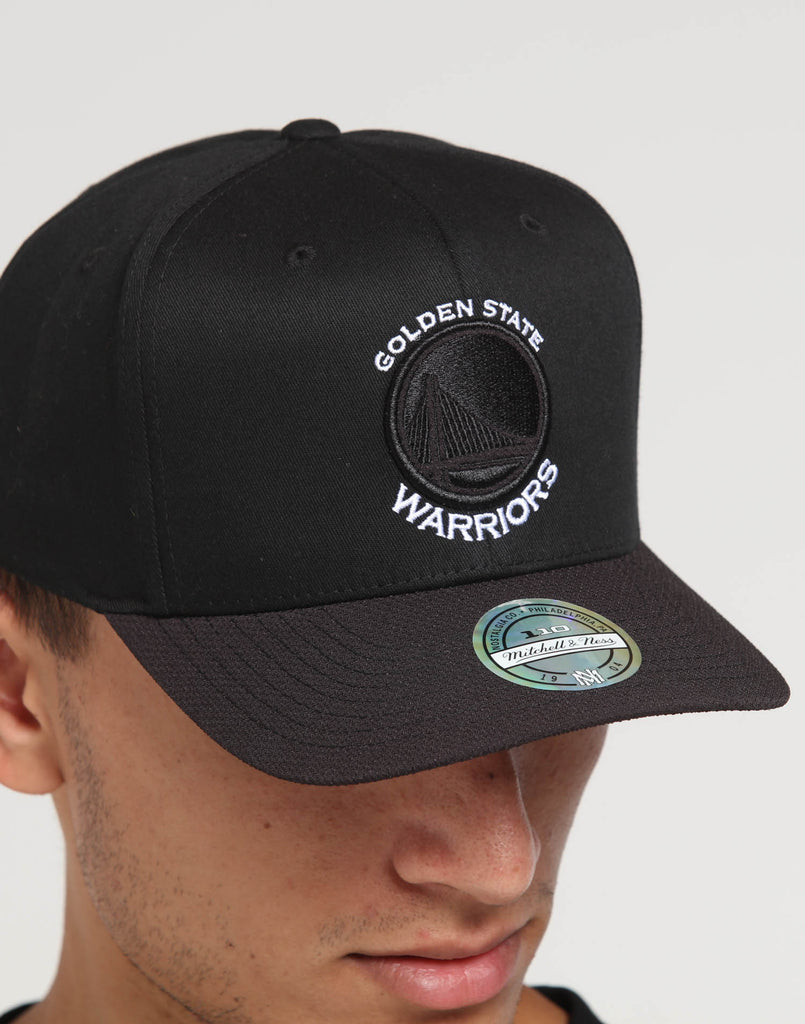 MITCHELL /& NESS NBA Washed 110 Warriors Cap Snapback Flexfit Curved Basecap